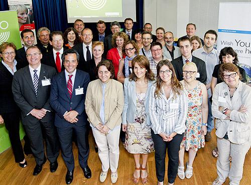 500 MRN Fachkraefte Barcelona Teilnehmer Runder Tisch