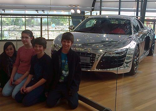 HSG besuchte Audi