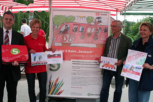 Malwettbewerb S Bahn