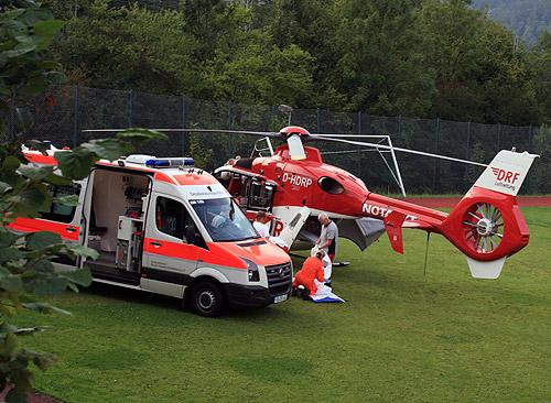 500 Unfall zwingenberg