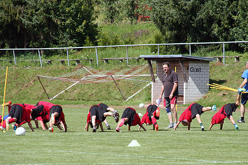Professionelles Trainingscamp beim SV Seckach