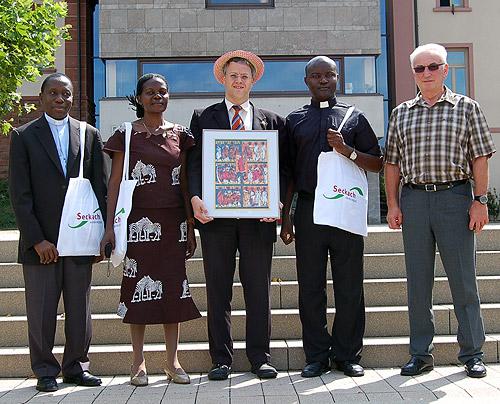 Seckach hatte Besuch aus Uganda