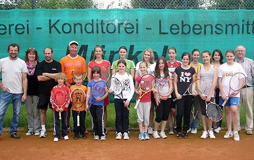 Tennis Camp beim FC Schlossau