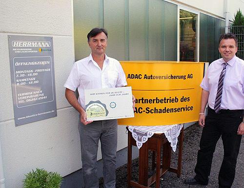 Herrmann ist ADAC Partner