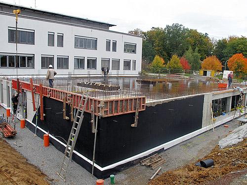 Baufortschritt Krankenhaus Buchen