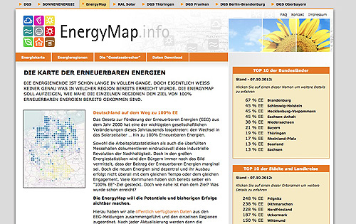Energymap Screenshot