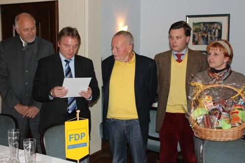 FDP ernennt Ehrenvorsitzenden