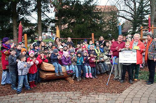 Spende Schule Grosseicholzheim