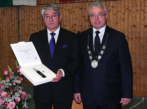 500 Dieter Weis seit 40 Jahren Gemeinderat