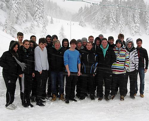 500 Jugendskifreizeit 2013