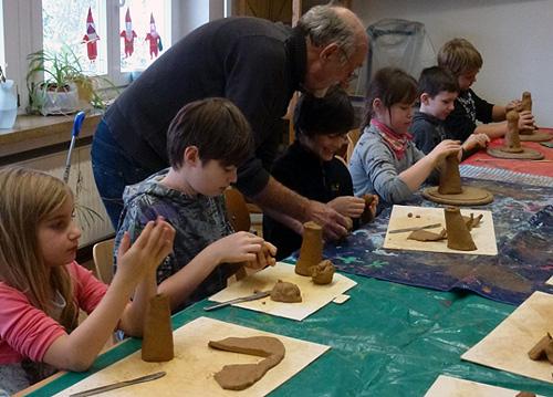 Kunst Workshop weckt schlummernde Talente