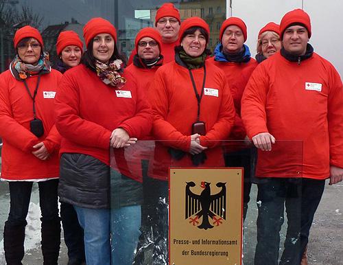 Limbacher DRK Delegation