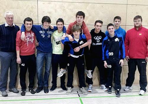 HSG Volleyballer erneut im Landesfinale