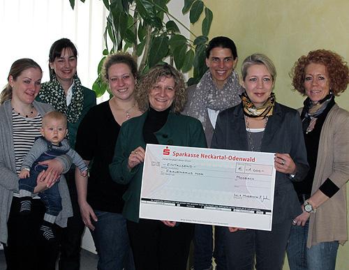 500 Ladies Circle unterstuetzen Frauen und Kinderschutzhaus