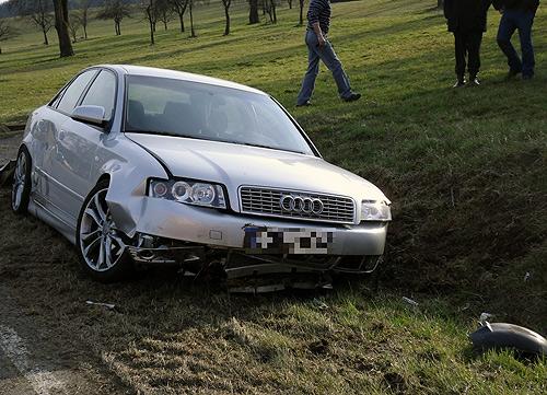Verkehrsunfall bei Heidersbach