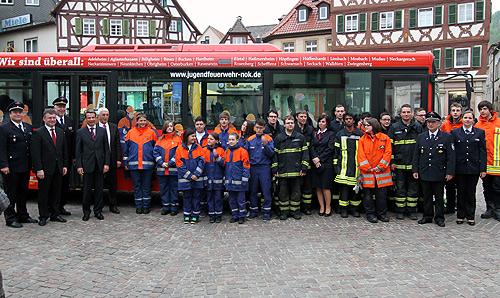 500 2Jahr der Feuerwehr gestartet