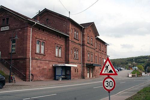 500 Bahnhof Seckach