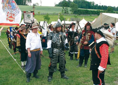 500 Landsknechtslager