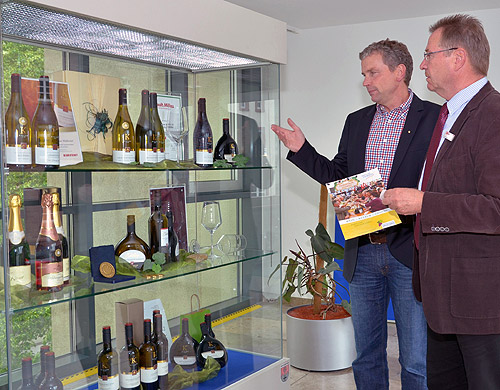 500 Wein Kultur Genuss Becksteiner Winzer im LRA