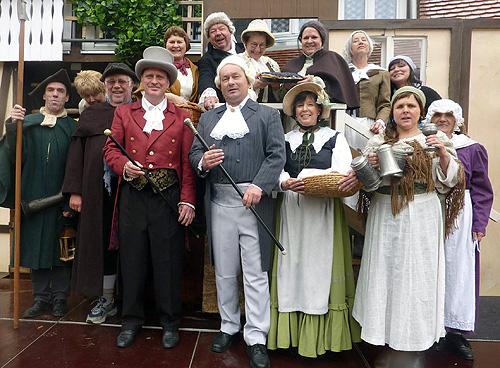 Gruppenbild Die deutschen Kleinstaedter