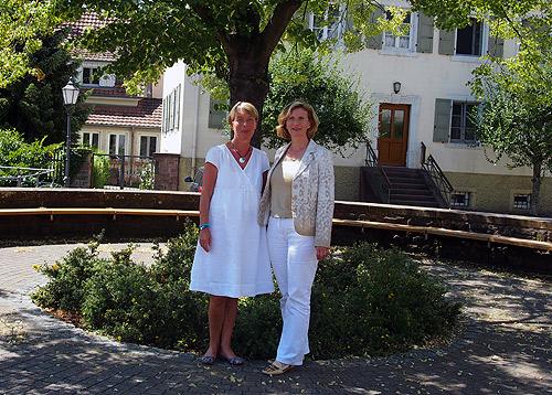 Antrittsbesuch Aglasterhausen