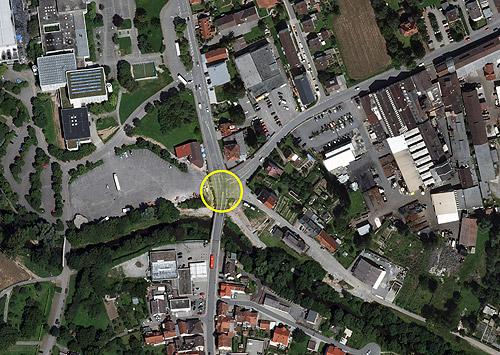 Kreisel Messplatz
