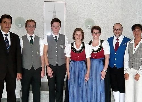 Sparkasse unterstuetzt Musikvereine