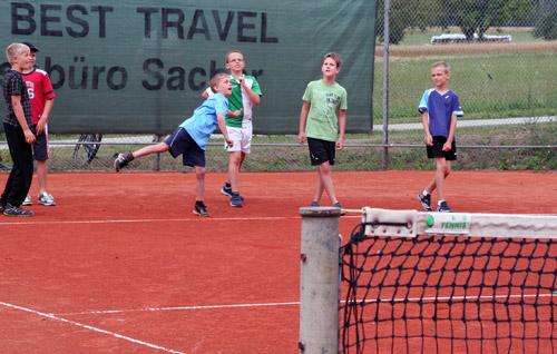 Tennis beim Ferienprogramm Mudau