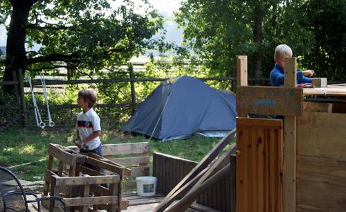 Zeltlager Jugendfarm