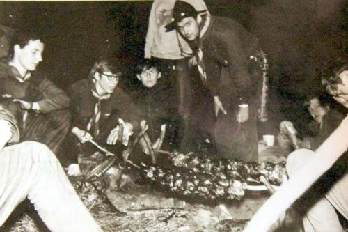 Pfadfinder vor 50 Jahren