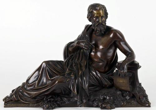 500 Skulptur Xenophanes