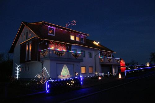 Weihnachtshaus Mudau