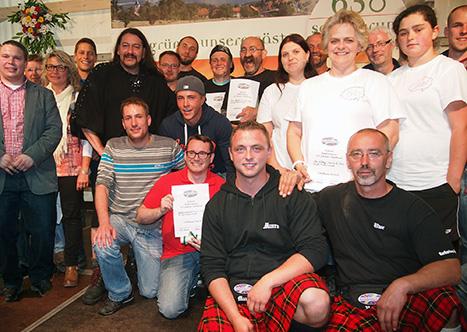 NZ Sieger Highland Games