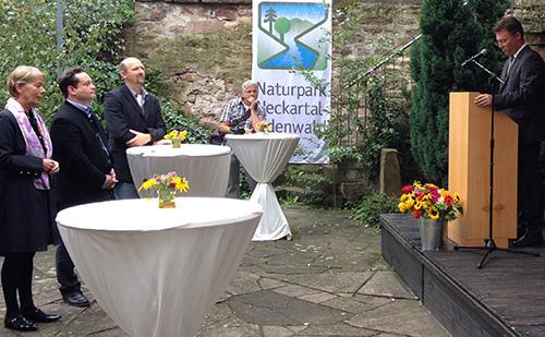 Eroeffnung Naturparkzentrum