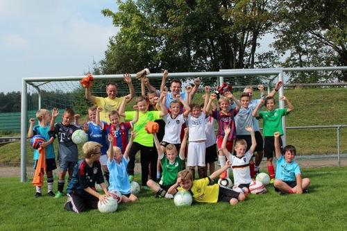 Fussball Sommerferien