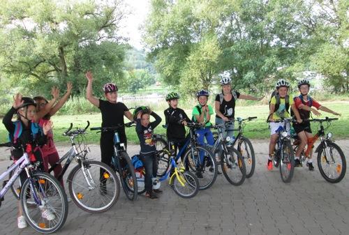 Juha Fahrradtour 1