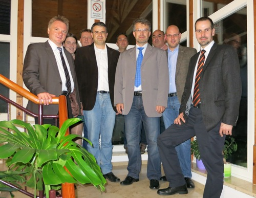 Bürgermeister-Kandidaten beim Förderverein Mörtelstein