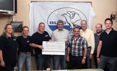 KP DLRG unterstuetzt DRK Waldbrunn