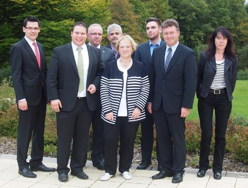 Regierungspraesidentin Kressl in Waldbrunn