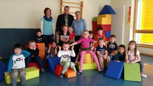 Geldspende Voba an Waldbrunner Kindergaerten