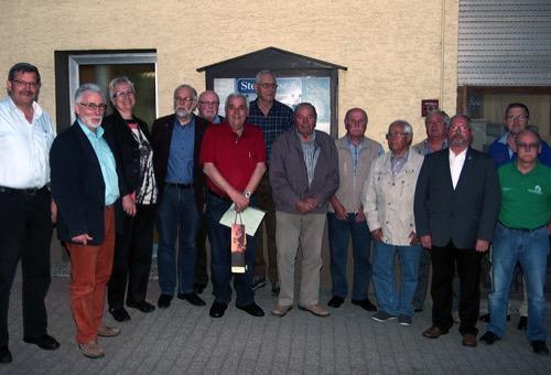 500 Siedlergemeinschaft Struempfelbrunn ehrt Mitglieder