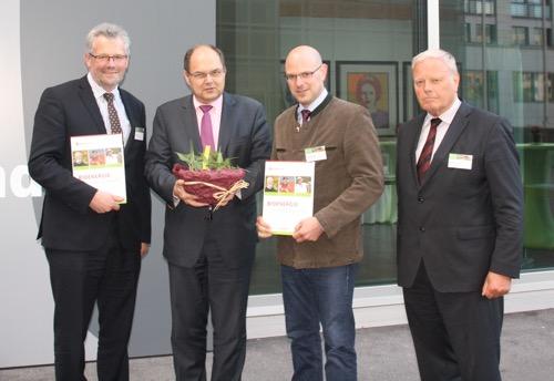 Energiepflanzen Geschenkkorb für Minister
