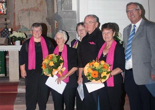 500 Ehrungen Kirchenchor Schollbrunn