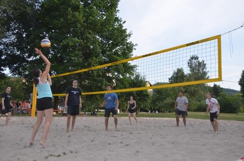 PM Volleyball Aufschlag