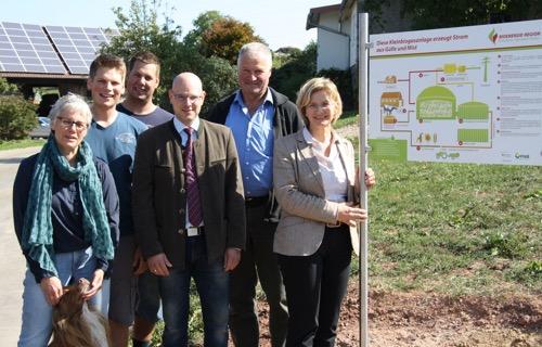 2015 09 16 Kleinbiogasanlage Breitenbronn informiert