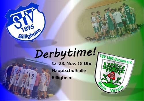 Derbytime gegen Billigheim 2015 16