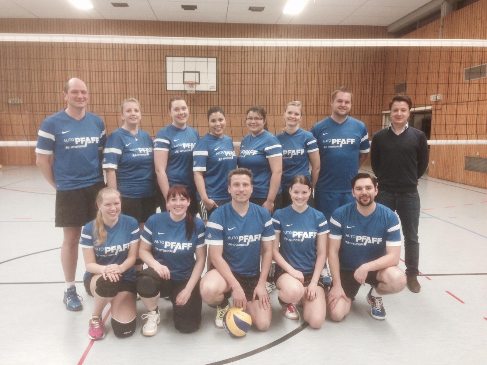 Autohaus Pfaff  unterstützt  Volleyballer thumbnail
