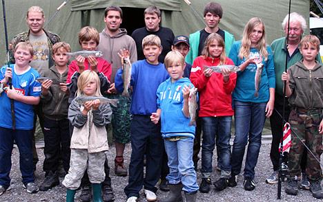 468Nachwuchs zeltete am Seckachtalweiher
