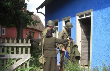 468Amerikanische Militaerbesatzung im Odenwald 1945