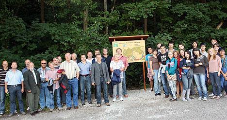 468Hassmersheim weihte Walderlebnispfad ein